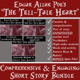"""""""The Tell-Tale Heart"""" Comprehensive & Engaging Short Story Unit w/Trial Activity"""