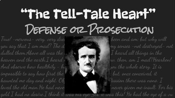 """""""The Tell-Tale Heart"""" Defense or Prosecution Google Slides Project"""