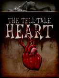 """""""The Tell-Tale Heart"""" Graphic Organizer on Symbolism, Mood"""