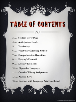 """""""The Tell-Tale Heart"""" Literature Guide"""