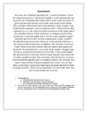 """""""The Tell-Tale Heart"""" Passage Dissection for Diction and Syntax"""
