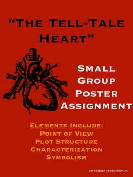 """""""The Tell-Tale Heart"""" Small Group Poster Assignment"""