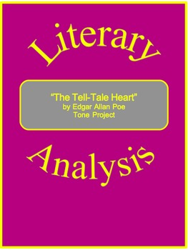 """""""The Tell-Tale Heart"""" Tone Project--Literary Analysis"""