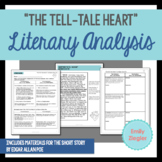"""The Tell-Tale Heart"" by Edgar Allan Poe Literary Analysis Graphic Organizers"