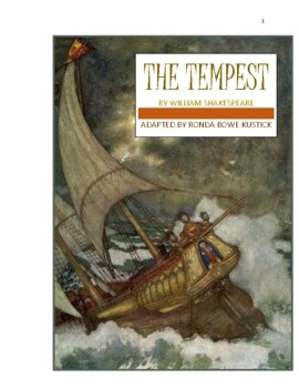 """""""The Tempest"""" adapted into a 10-minute play by Ronda Bowe Kustick."""