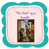 """""""The Test"""" Quiz Bundle for Distance Learning"""