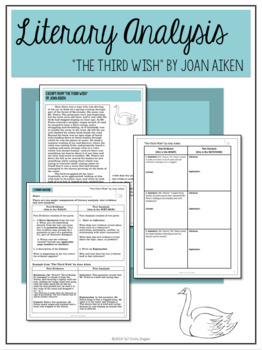 """The Third Wish"" by Joan Aiken Literary Analysis Graphic Organizers"