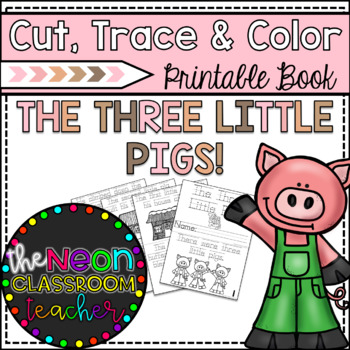 graphic about Three Little Pigs Printable named \