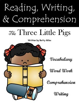 """""""The Three Little Pigs"""" Guided Reading Program Activities"""