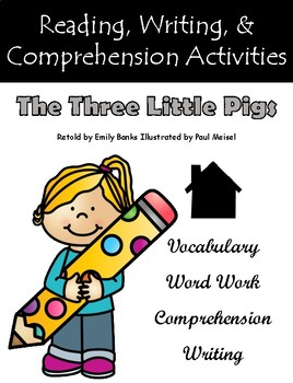 """""""The Three Little Pigs"""" Guided Reading Program Work"""