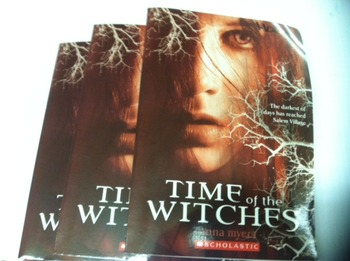 """The Time of the Witches"" books, by Anna Myers - Literatur"