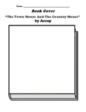 """""""The Town Mouse And The Country Mouse""""  by Aesop Book Cover Worksheet"""