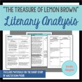 """The Treasure of Lemon Brown"" Literary Analysis Graphic Or"