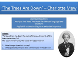 'The Trees Are Down' - Charlotte Mew