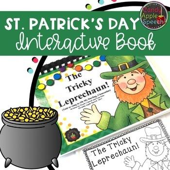 """The Tricky Leprechaun"" Interactive Story"