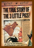 """""""The True Story of the Three Little Pigs"""" Reader's Theater"""
