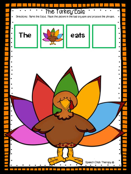 """The Turkey Eats"""