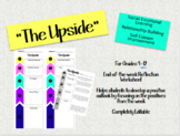 """The Upside"" Positive Weekly Reflection for SEL"