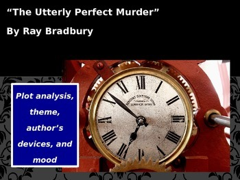 """""""The Utterly Perfect Murder"""" by Ray Bradbury: analysis and literary devices"""