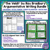 """The Veldt"" Bundle- Close Reading & Argumentative Writing with Task Cards"