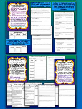 """The Veldt"" by R. Bradbury Close Reading, Narrative Writing, & Task Cards BUNDLE"