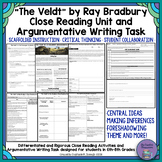 """The Veldt"" by Ray Bradbury Close Reading & Argumentative"