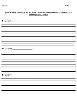 """The Vendetta"" by Guy de Maupassant Theme Worksheet"