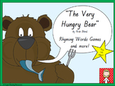 """The Very Hungry Bear"" rhyming words games"