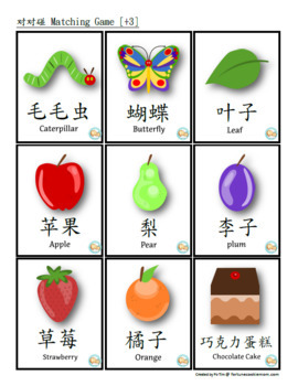 """""""The Very Hungry Caterpillar"""" Activity Pack {English with Traditional Chinese}"""