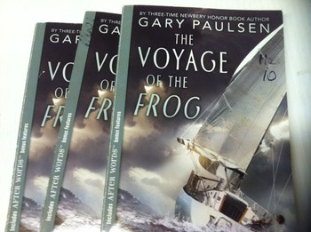 """The Voyage of the Frog"" books, by Gary Paulsen - Literatu"