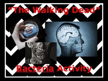"""The Walking Dead"" activity"