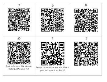 """The Wall"" QR Codes"
