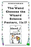 """The Wand Chooses the Wizard"" Science Posters, 11x17"