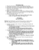 """""""The Wanderer"""" Guided Analysis/Study Guide Questions/Answers"""