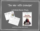 """The War with Grandpa"" Trifold Novel Study"