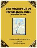 """The Watson's Go To Birmingham-1963"" Novel Study"