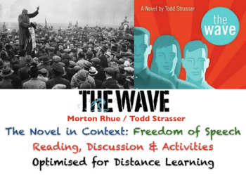 """""""The Wave"""" - Morton Rhue / Todd Strasser - Context Handout: Freedom of Speech"""