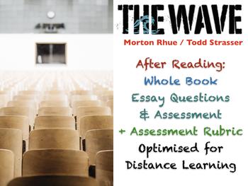 the wave morton rhue essay questions