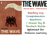"""""""The Wave"""" - Morton Rhue / Todd Strasser - Reading Log & Comprehension Questions"""