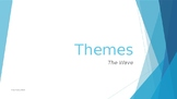 'The Wave' novel - Powerpoint on Themes