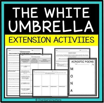 """The White Umbrella"" by Gish Jen ACTIVITY PACK"