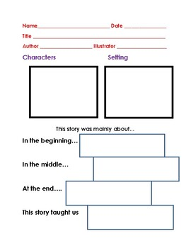 """The Witch of Blackbird Pond"" Comprehension Packet"