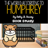 """The World According to Humphrey"" by Betty G. Birney- Book Study for Grades 3-6"