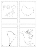 """""""The World"""" Continent Book"""