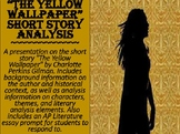 """The Yellow Wallpaper"" Short Story Analysis"
