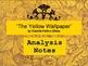 """""""The Yellow Wallpaper"""" Short Story Analysis"""