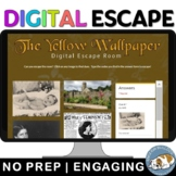 The Yellow Wallpaper by Charlotte Perkins Gilman Digital Escape Room Review