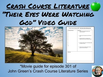 """""""Their Eyes Were Watching God"""" Crash Course Literature Video Guide (Episode 301)"""