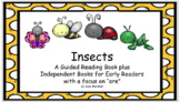 """There Are Many Kinds of Insects"" Guided Reader with a foc"