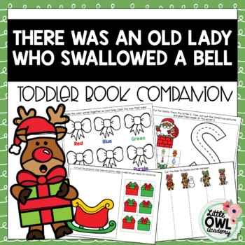 """""""There Was An Old Lady Who Swallowed A Bell"""" Toddler and Early Preschool Packet"""